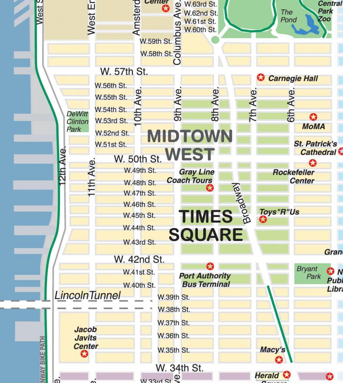 Nyc Shopping Karta New York Shopping Karta New York Usa